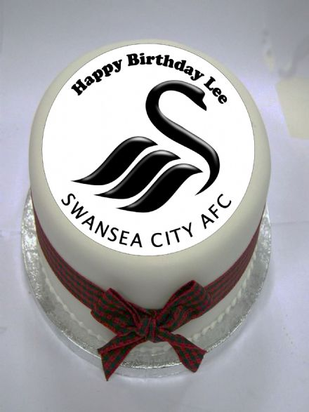 Swansea Edible Cake Topper
